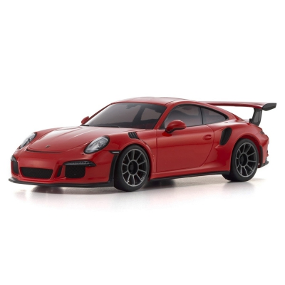 Kyosho MINI-Z RWD MR-03 RS Porsche 911 GT3 Lava Orange