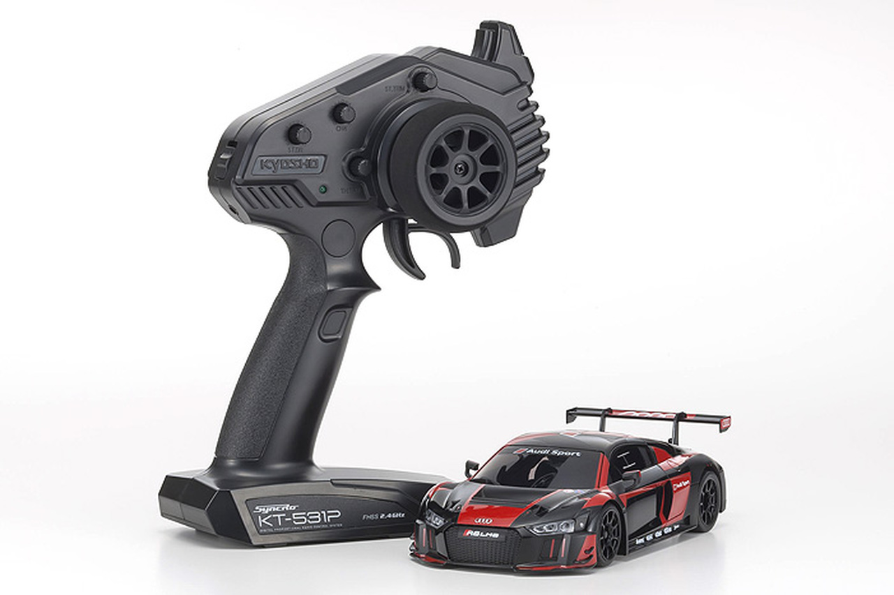 Kyosho Mini-Z MR-03 RWD Audi R8 LMS 2016 RTR Black/Red
