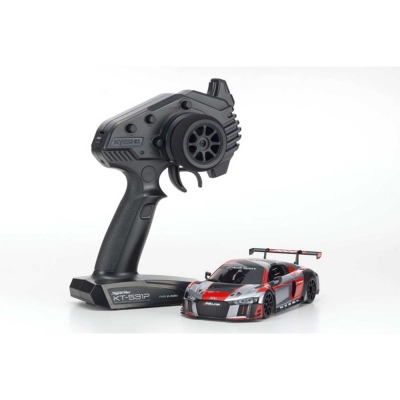 Kyosho MINI-Z RWD Audi R8 LMS 2016 Gray/Red