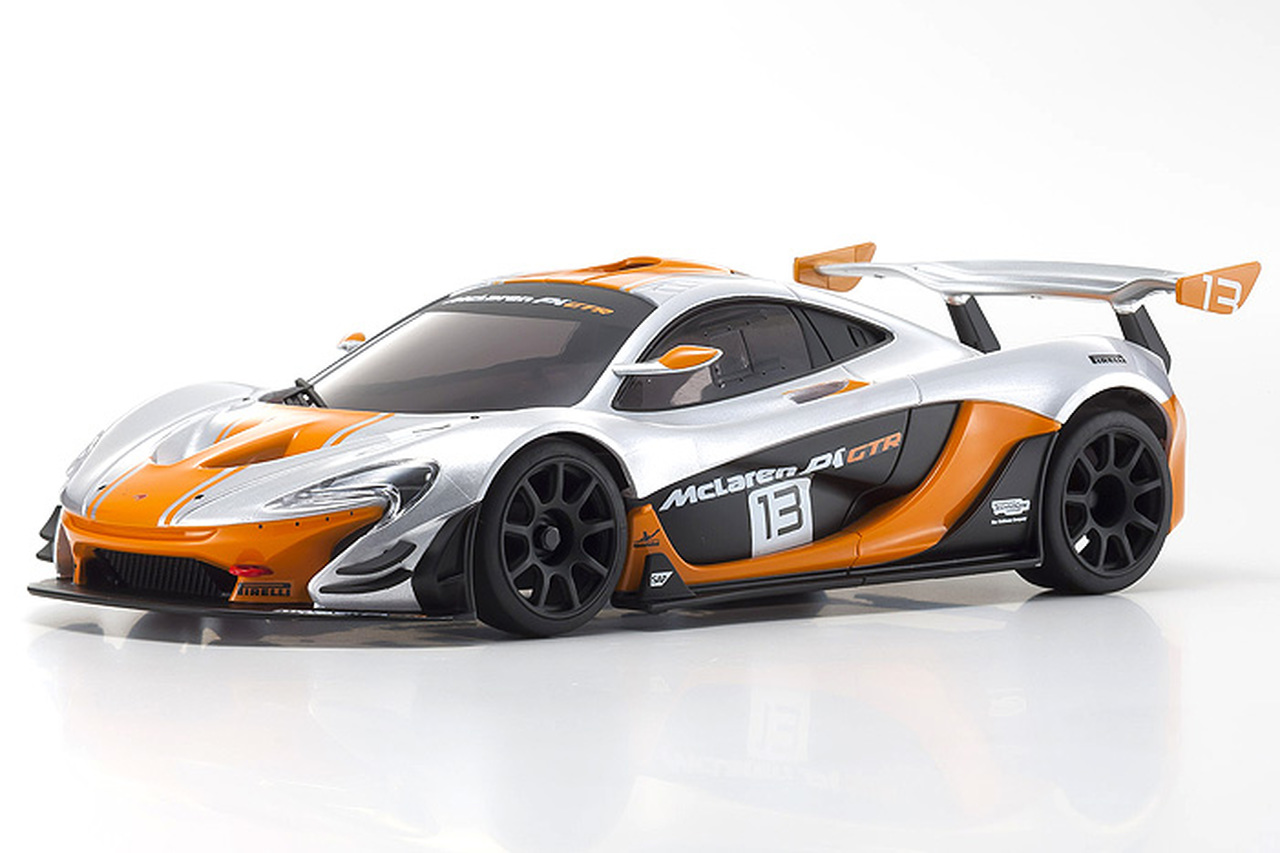 Kyosho Mini-Z MR-03 RWD McLaren P1 GTR RTR Sliver/Orange