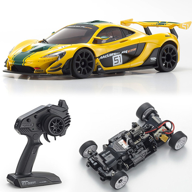 Kyosho Mini-Z MR-03 RWD McLaren P1 GTR RTR Yellow/Green