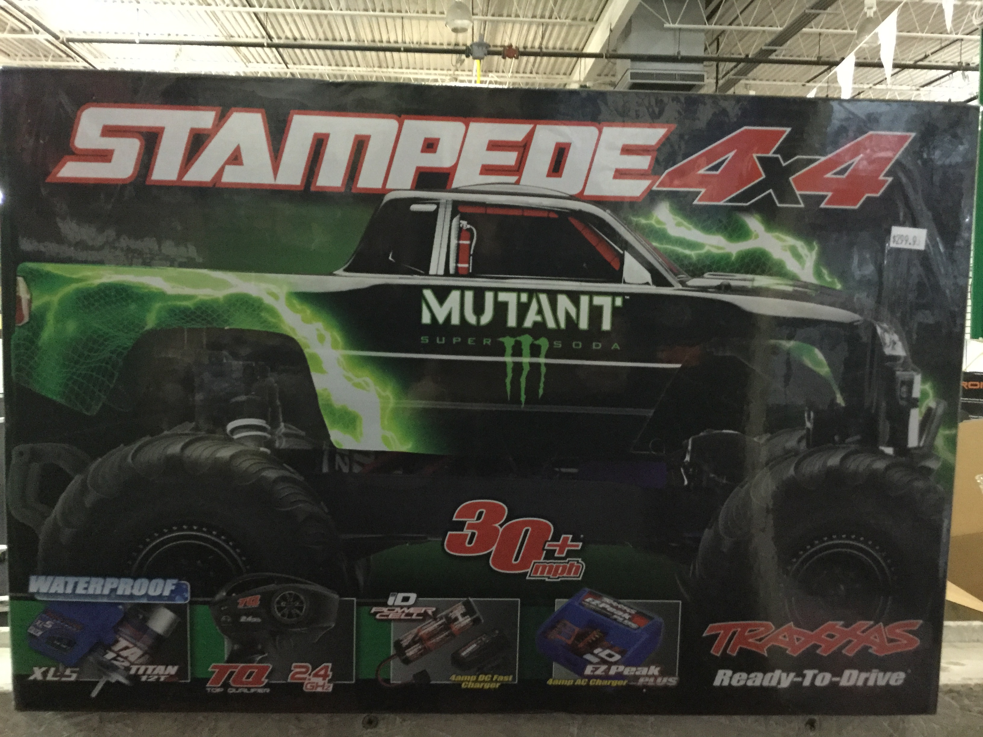 Stampede 4X4 Truck RTR Mutant RC Limited Edition Monster Energy